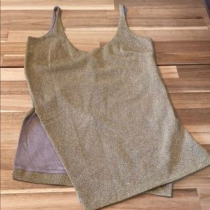 Improvd glitter tank top